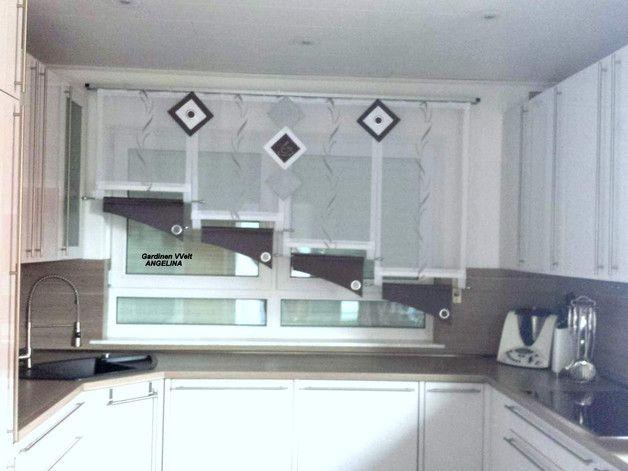Küche \ Bad « Gardinen Liliya einrichten Pinterest - gardine küche modern