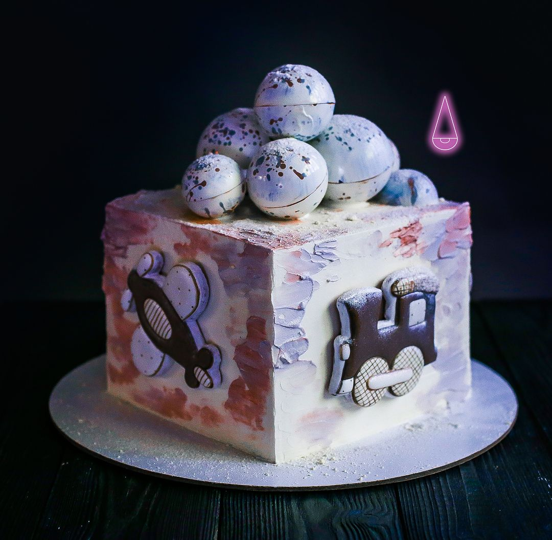 Нет описания фото. | Пряник, Детский торт, Торт
