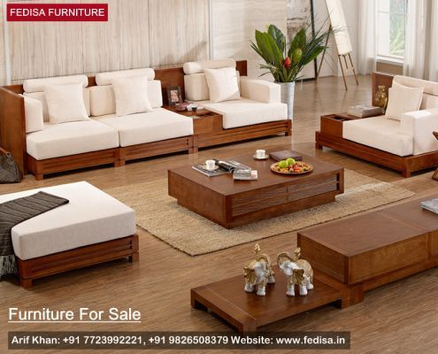Wooden Sofa Set: simple sofa set designs with price, Buy ...