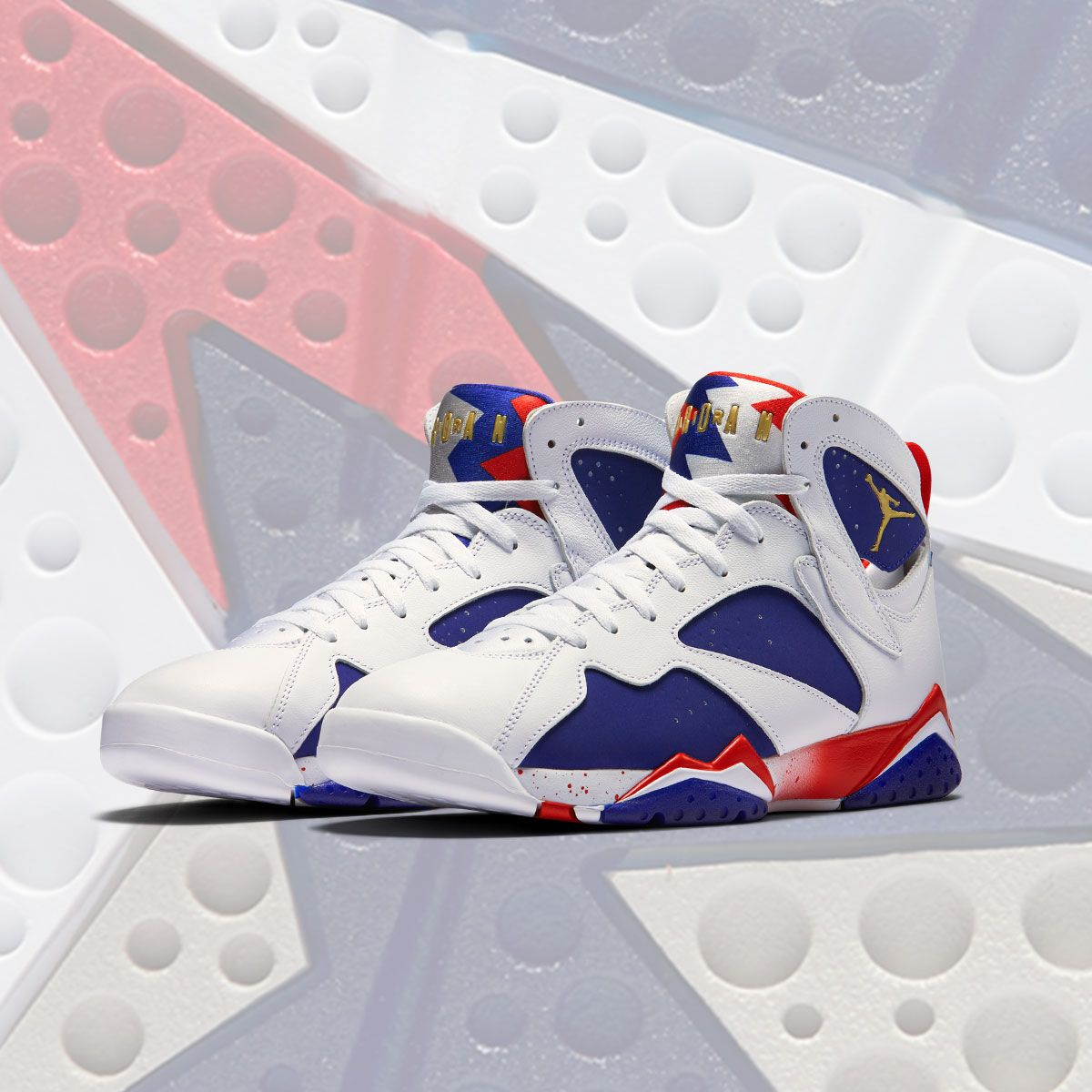 5642d3451c7 Nike Air Jordan 7 VII Retro Sz 12 Olympic Alternate Tinker Red White 304775  123 | eBay | Sneaky in 2019 | Air jordans, Nike air shoes, Jordans