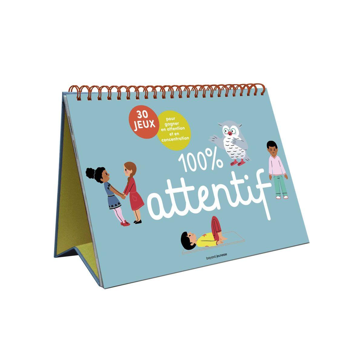 Livre 100 pour cent attentif pour enfant de 5 ans à 8 ans - Oxybul éveil et jeux en 2020 | Livre ...