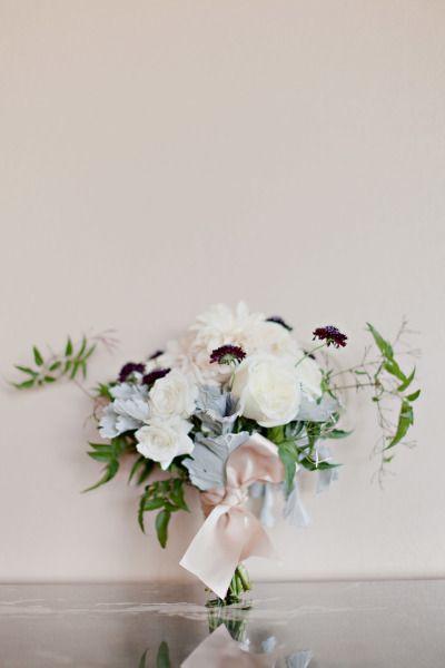 A lovely bouquet: http://www.stylemepretty.com/southwest-weddings/2014/03/12/elegant-purple-wedding-at-sky-creek-ranch/ | Photography: Ivy Weddings - http://www.ivy-weddings.com/