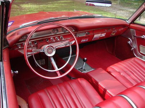 1962 Ford Galaxie 500 Xl Convertible With Images Ford Galaxie