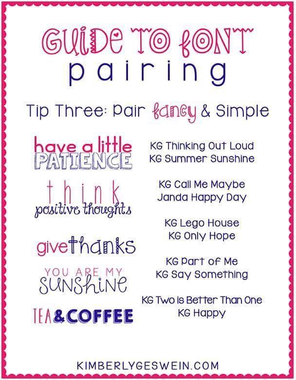 I Love Janda Happy Day Font Font Pairing Font Combos Lettering Fonts