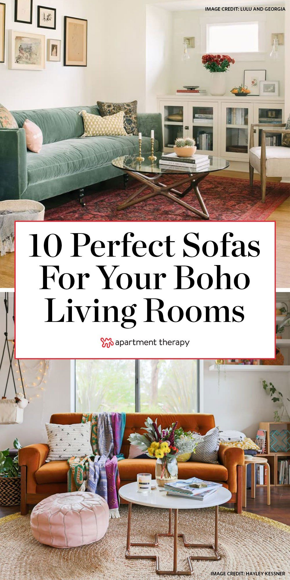 10 Sofas That Will Help You Achieve The Boho Living Room Of