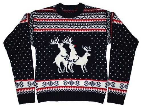 REINDEER THREESOME SWEATER | Fashion | Pinterest | Clothes