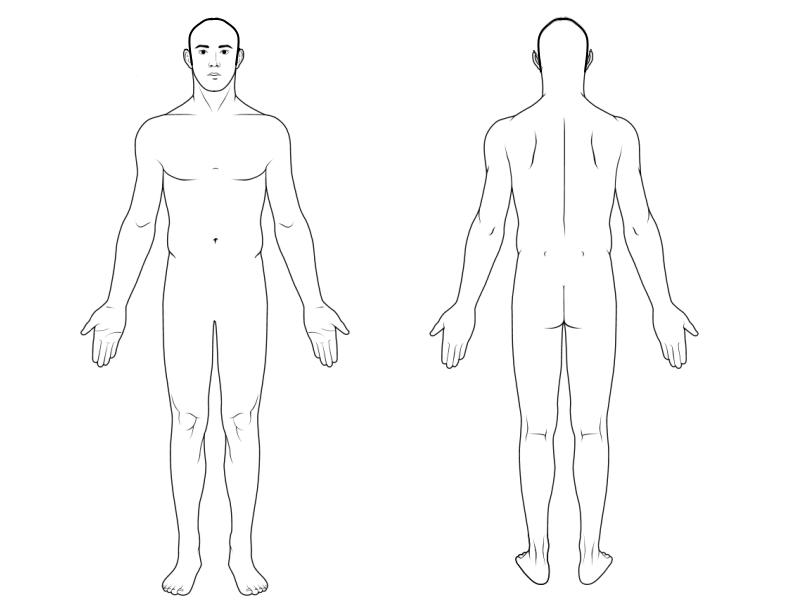 Male Body Diagram House Wiring Diagram Symbols