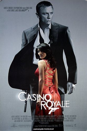 James Bond 007 Casino Royale 2006 Original Intage Movie Poster