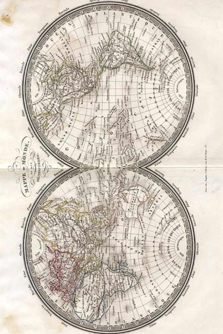 Petit Atlas De Geographie Moderne Cartografia Mapas Cartografico