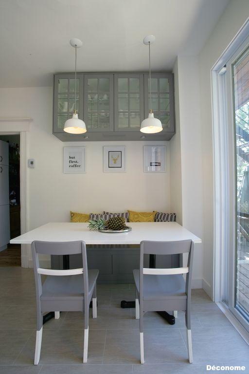 Avant Apres Notre Cuisine Ikea Grise Et Blanche Home Bar Decor Kitchen Design Cuisine Ikea