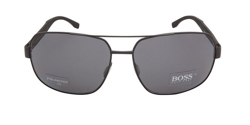 BOSS BOSS0677/F/S HXJRA Black Ruthenium Grey / Grey Polarized