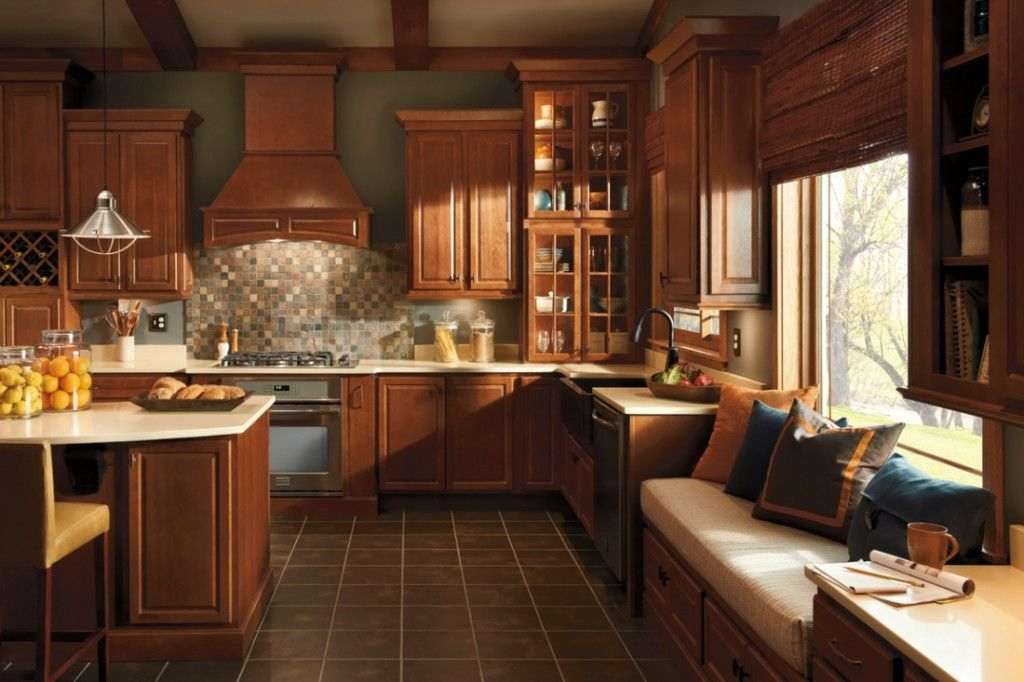 Menards Kitchen Cabinet, Center Island, Barstool With ...