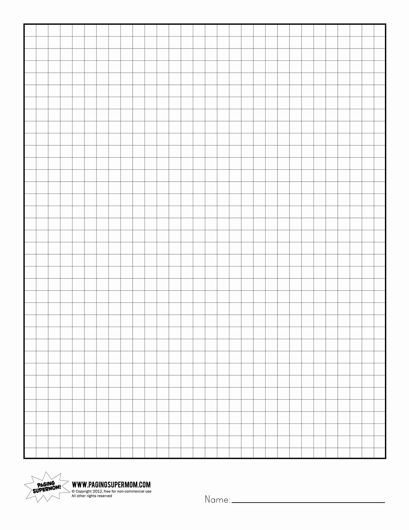 30 Graph Paper Printable Free In