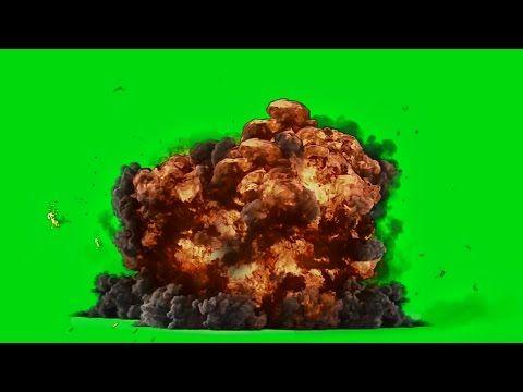 Best Explosion - Green Screen HD 1080p - YouTube   動態素材