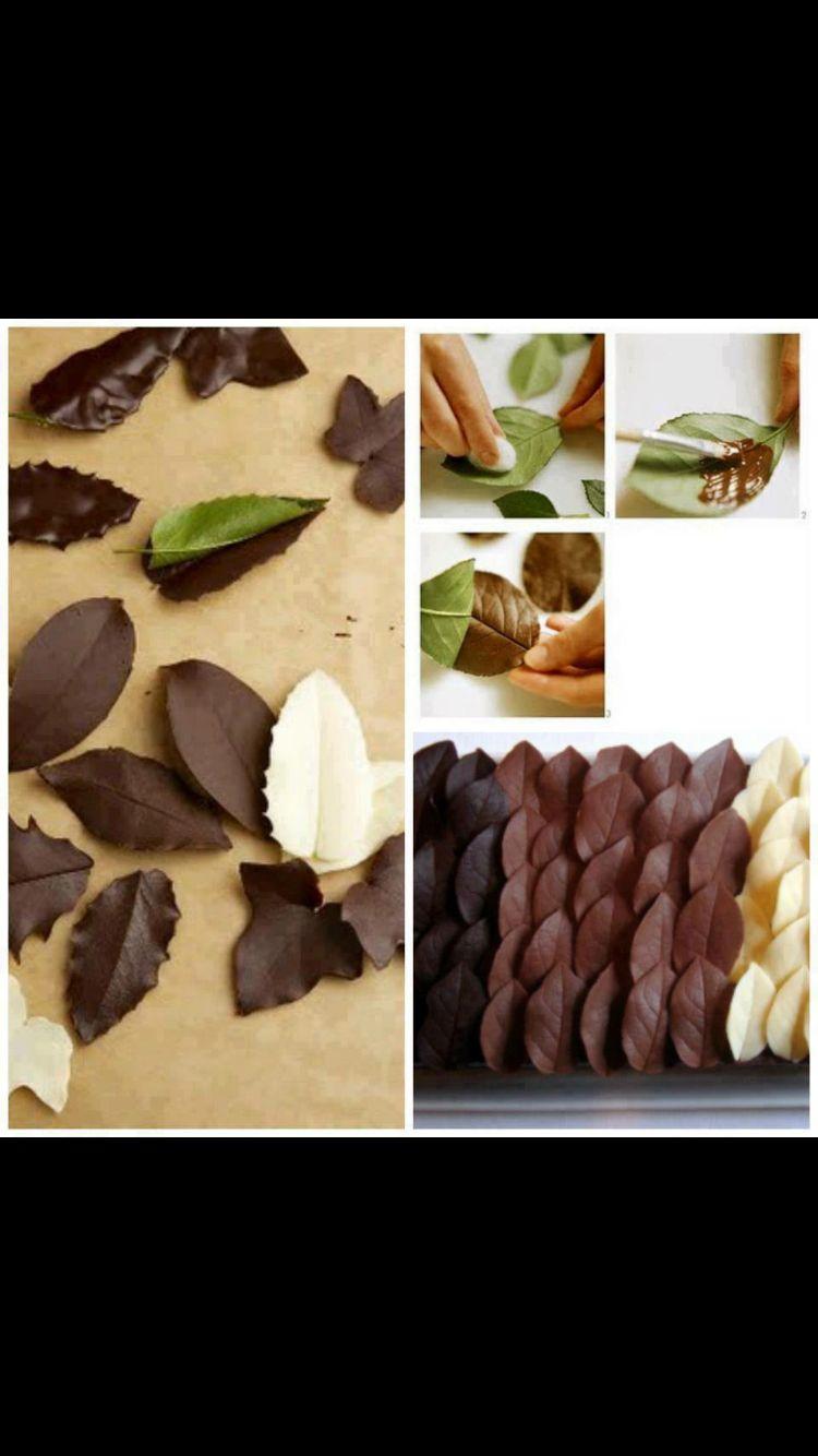 Suklaa lehdet