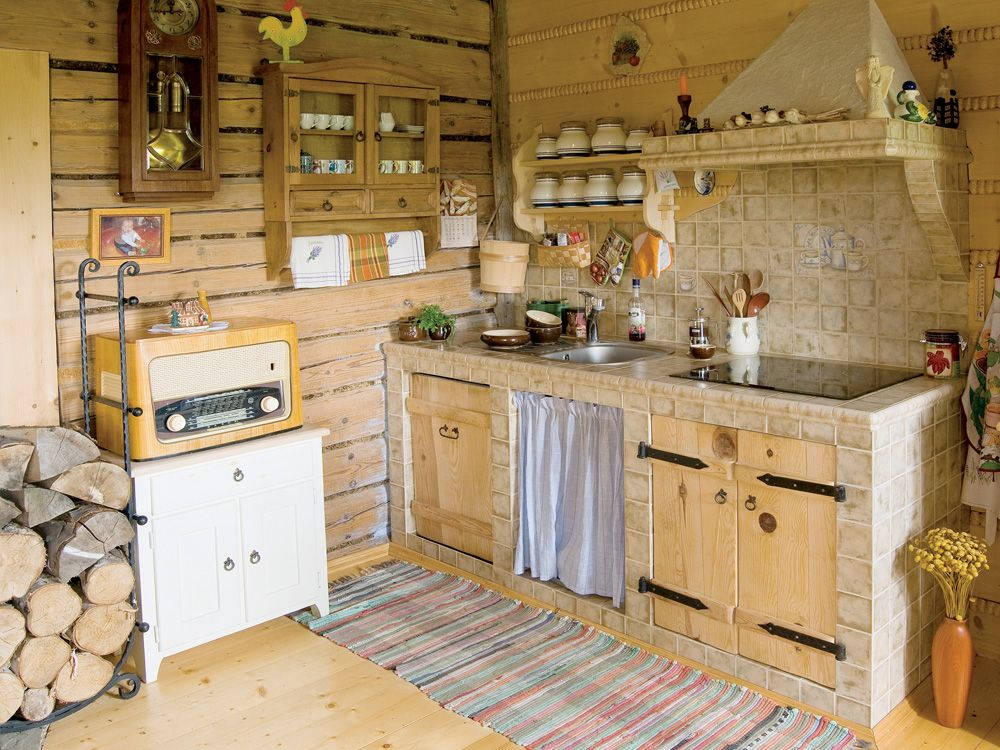 Country style kitchen - cozy in the kitchen