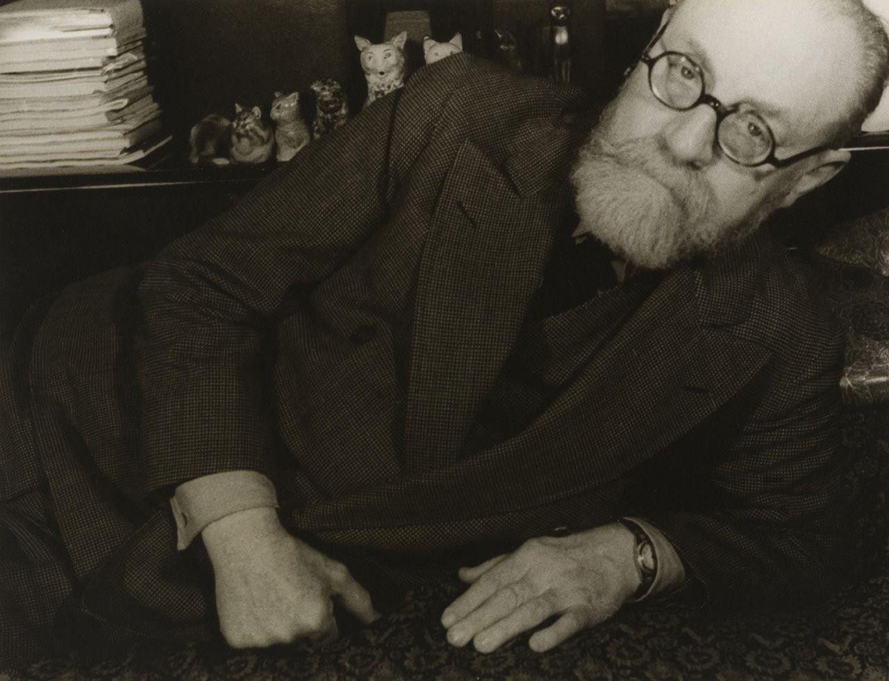 "Happy birthday to the inimitable Henri Matisse. In this portrait by American photographer Carl Van Vechten, Matisse looks very dapper indeed.""Henri Matisse,"" 1933, by Carl Van Vechten"