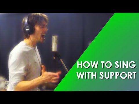 HOW TO SING WITH SUPPORT - SING WITH THE DIAPHRAGM - Phil ...