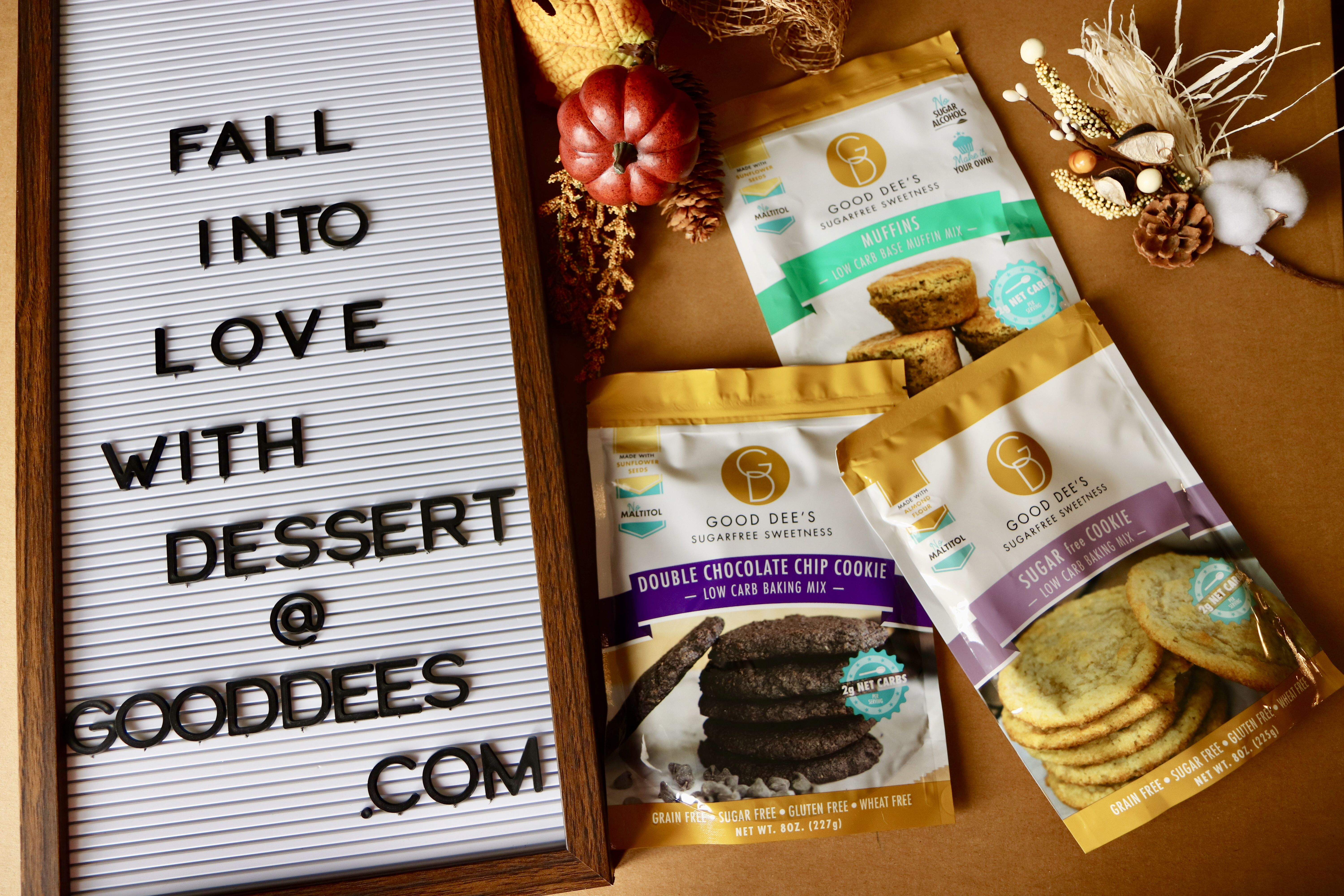 Fall is near stock up on your low carb sugar free treats