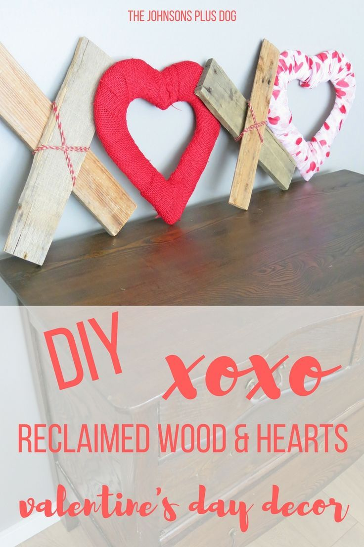 Special Guest Post Reclaimed Wood Xoxo Heart Valentines Day
