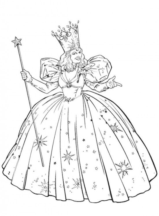 Wizard of Oz Coloring Pages For Kids / All About Free Coloring Pages ...