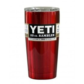 Candy Apple Red Yeti 20 oz Rambler Tumbler YETI Cups 304 Stainless Steel Insulation Cup Cars Beer Mug