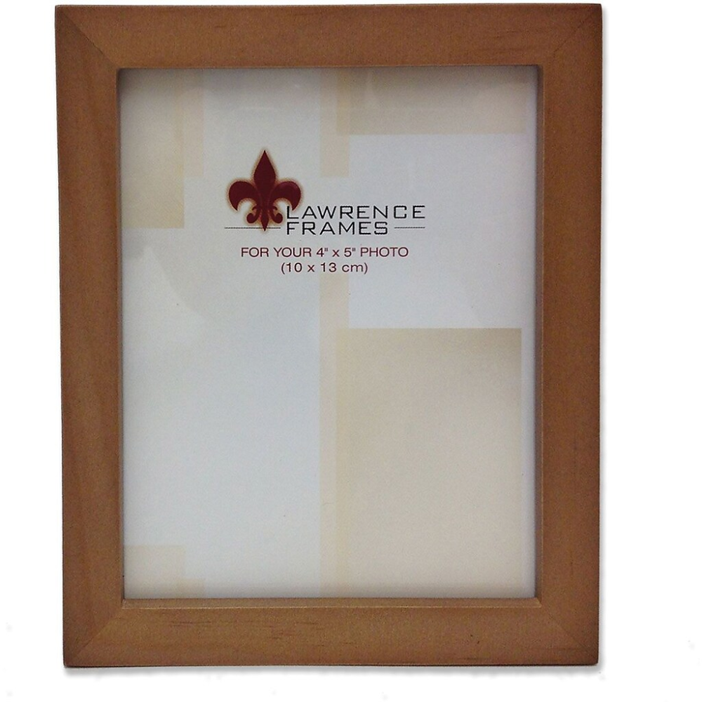 766045 Nutmeg Wood 4x5 Picture Frame Gallery Collection Staples Classic Picture Frames Picture On Wood Lawrence Frames 4 x 5 picture frames