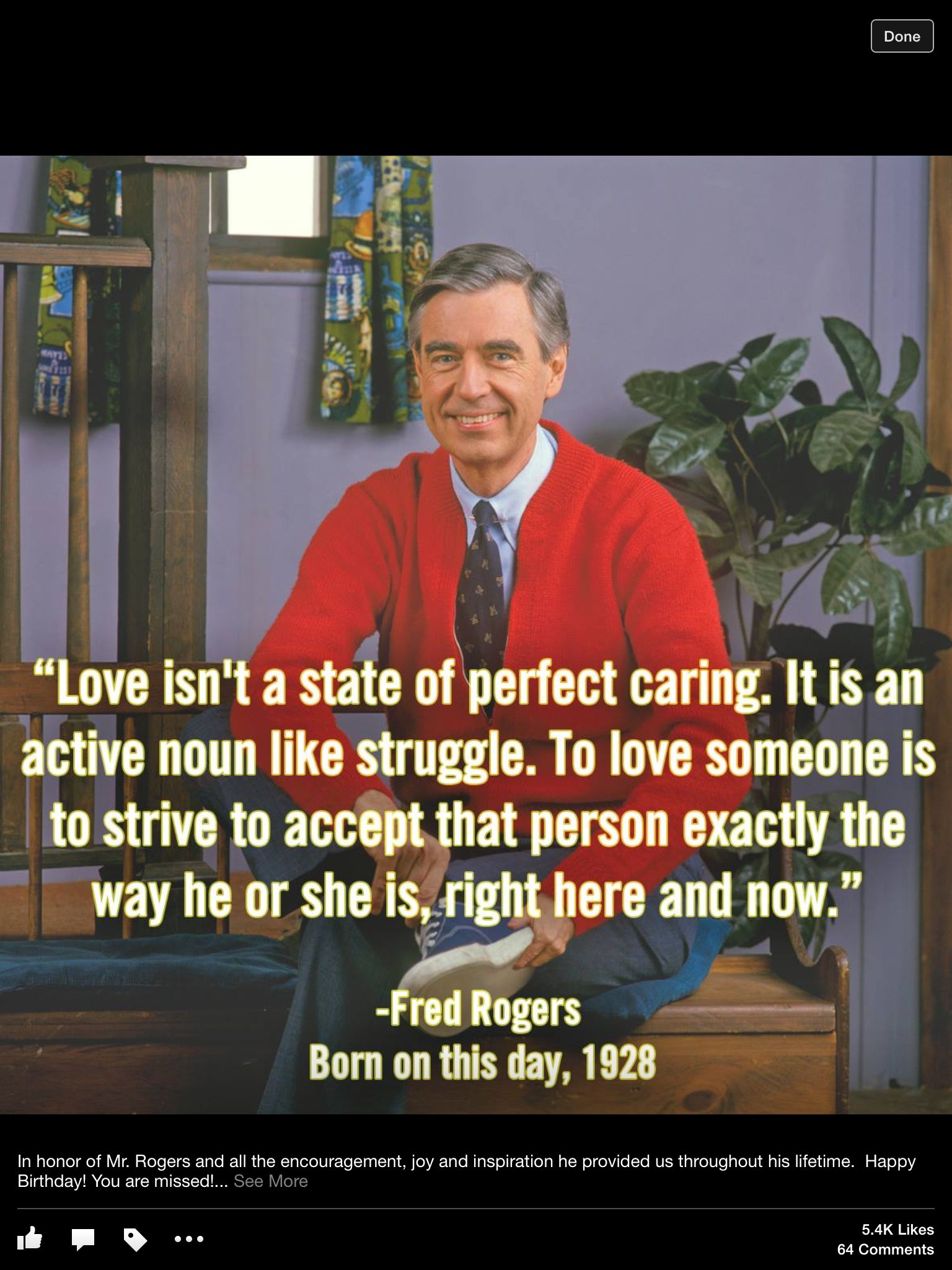That S Right Mr Rogers Mr Rogers Quote Inspirational Quotes Cool Words