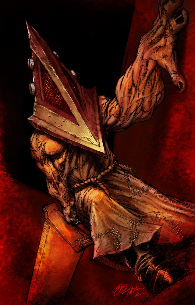 Pyramid Head Silent Hill Artwork By Anele Ktrix Silent Hill