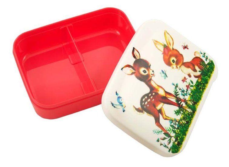 Lunchbox Hert & Konijn 'Friendly Woodland' -De Oude Speelkamer