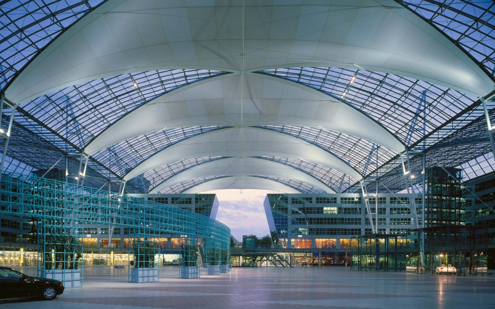 Munich Airport Center 01 With Images
