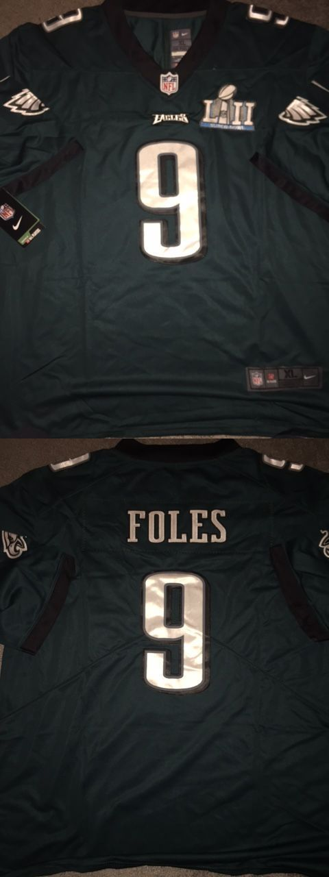 new style 9f9b5 0bc05 Clothing 21218: Nick Foles Super Bowl 52 Jersey Xl -> BUY IT ...