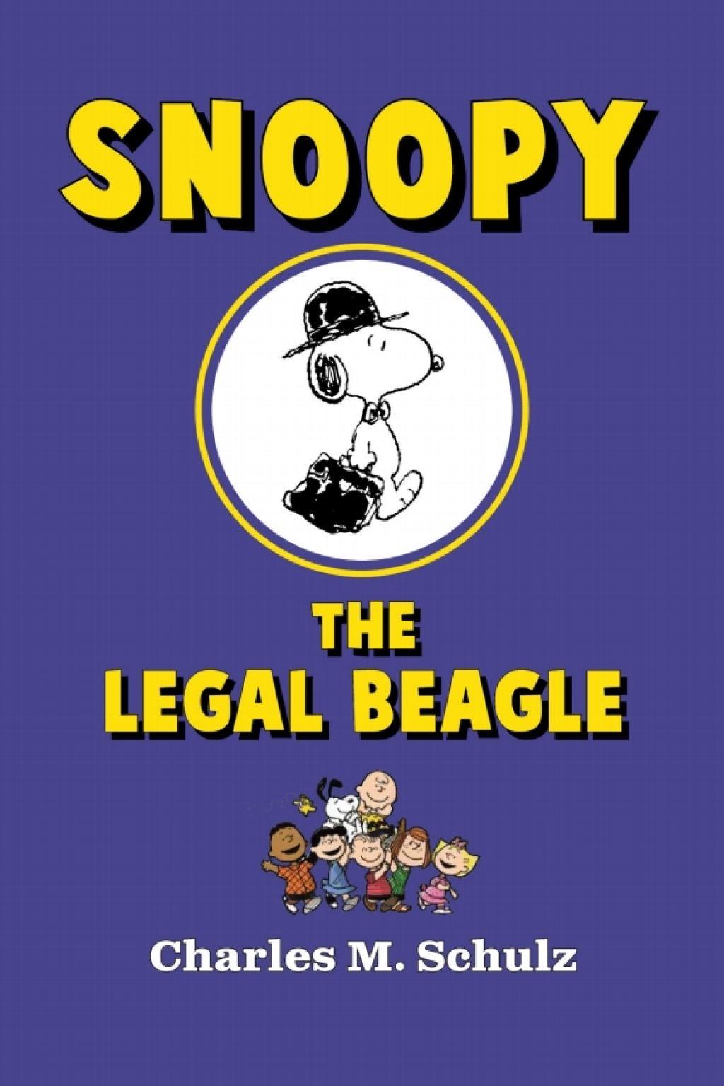 Snoopy The Legal Beagle Ebook Beagle Snoopy Books