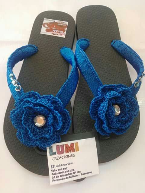 Zapatillas bordadas | for crochet shoes bottoms and other crochet ...