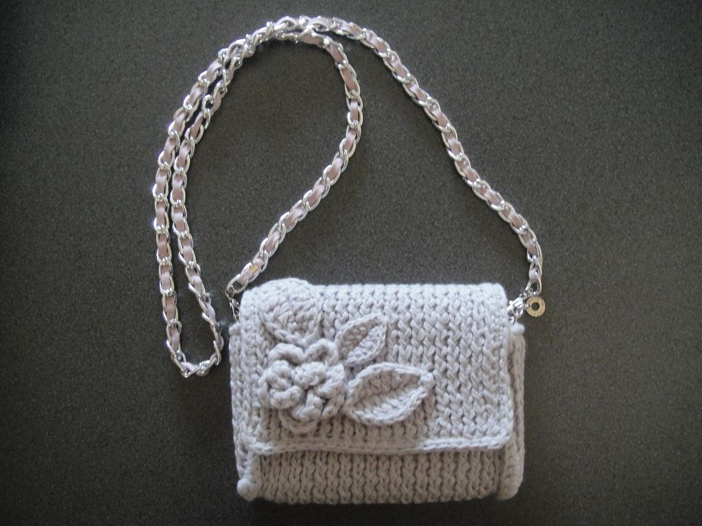 "Wool knitted bag by ""the knitting bee"" https://www.facebook.com/pages/The-knitting-bee/193980094038387"