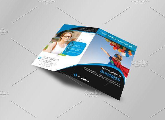 Corporate BiFold Business Brochure By Imagine Design Studio On