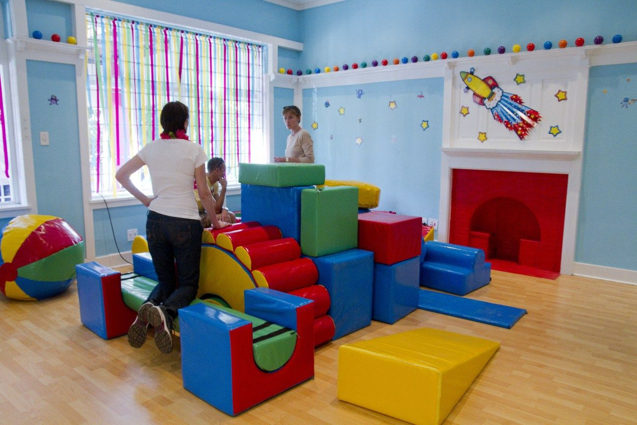 Indoor Play Area At Houghton Estate Private Nursery School