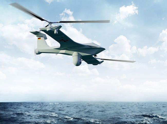 Future Tech X1 Rheinmettall Hybrid UAV