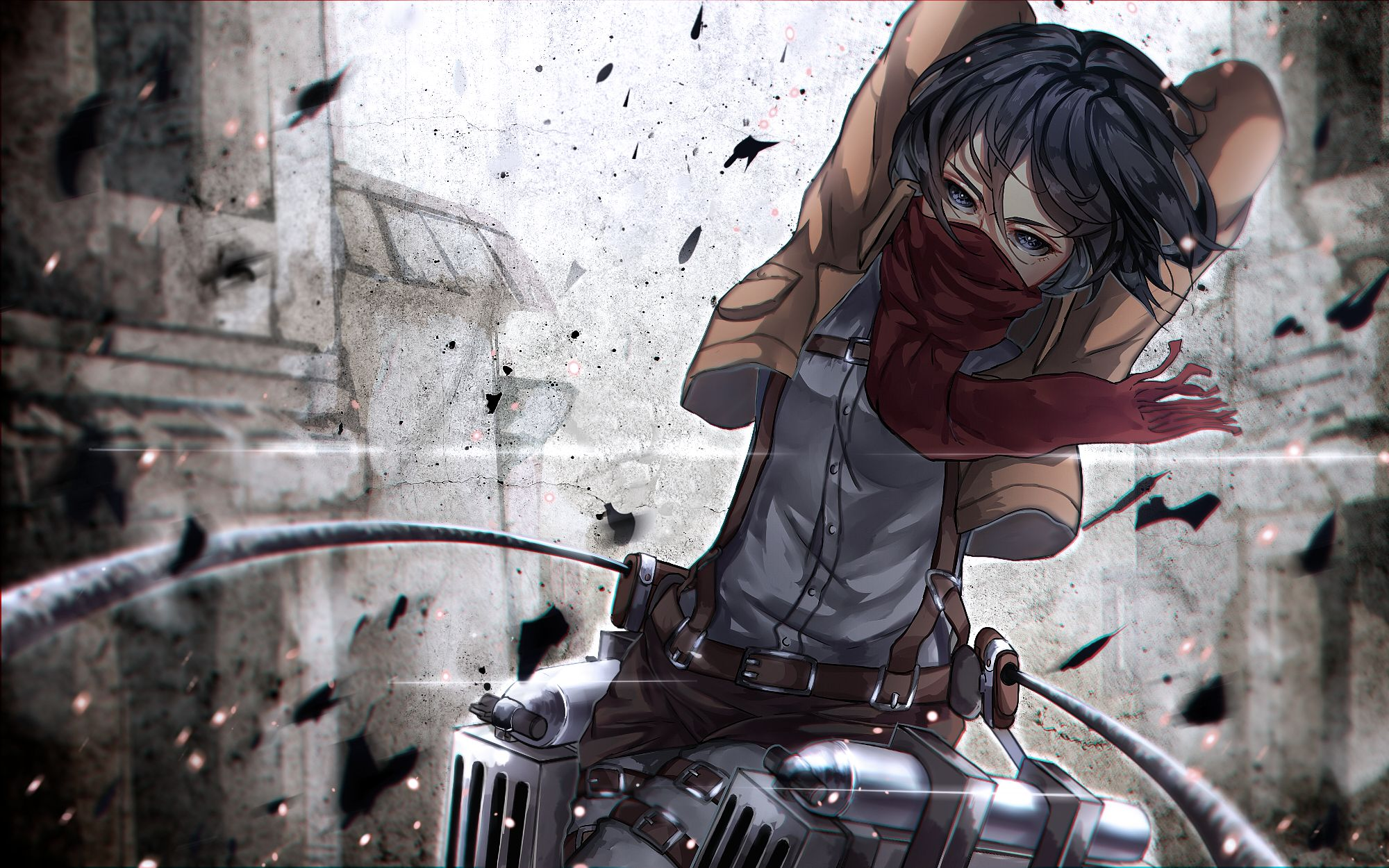 Anime Wallpaper Attack On Titan Mikasa Mikasa Ackerman Attack On Titan Hd Wallpaper 2108150 Download Wallpapers In 2020 Attack On Titan Anime Attack On Titan Titans