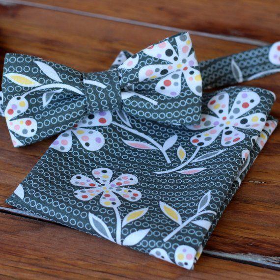 Men/'s Cotton Handkerchief Floral Flower Print Handmade Suit Pocket Square Hanky