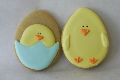 Adorable Easter Cookies!  :)