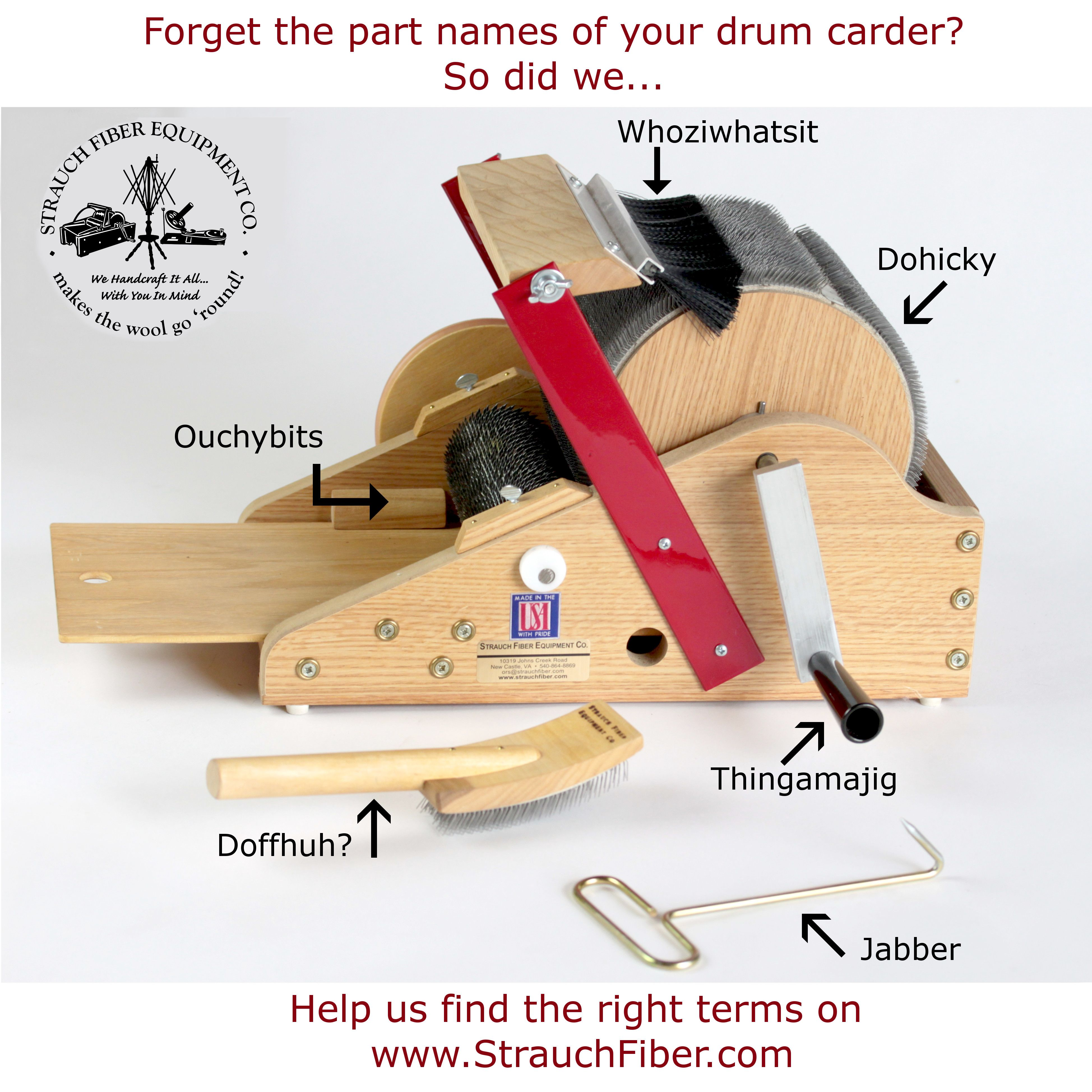 Forget The Parts Of Your Strauch Drum Carder Click Through To Find