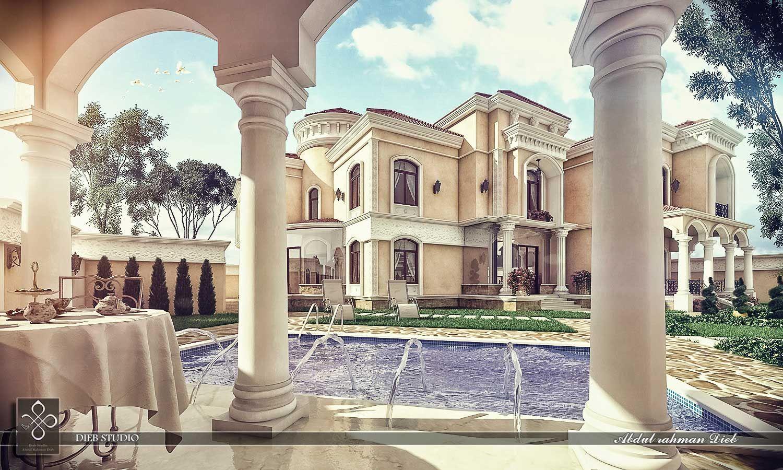 Dieb Studio New Classic Villa Arch Roman House Villa Villa Design