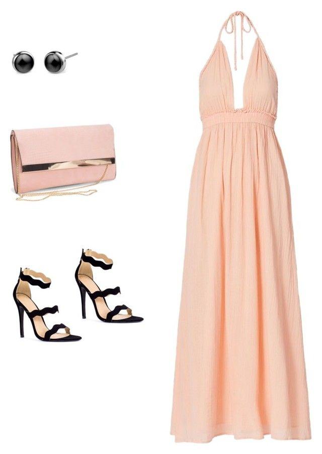 """Maxi dress"" by shinella-blair-harris on Polyvore featuring LoveShackFancy, New Look and shinellasfashion"
