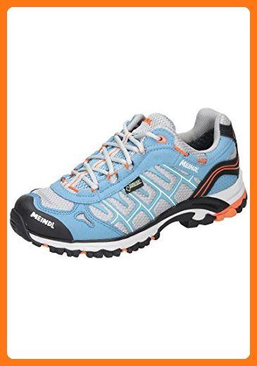 Meindl Womens Cuba Lady Gtx Lightblue Orange Size 4 0 Eu Partner Link With Images Hiking Shoes Women Shoes Asics Sneaker