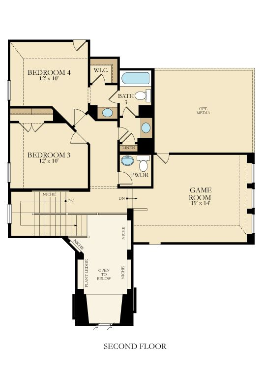 Edmonton New Home Plan In Willow Grove New House Plans Lennar House Plans