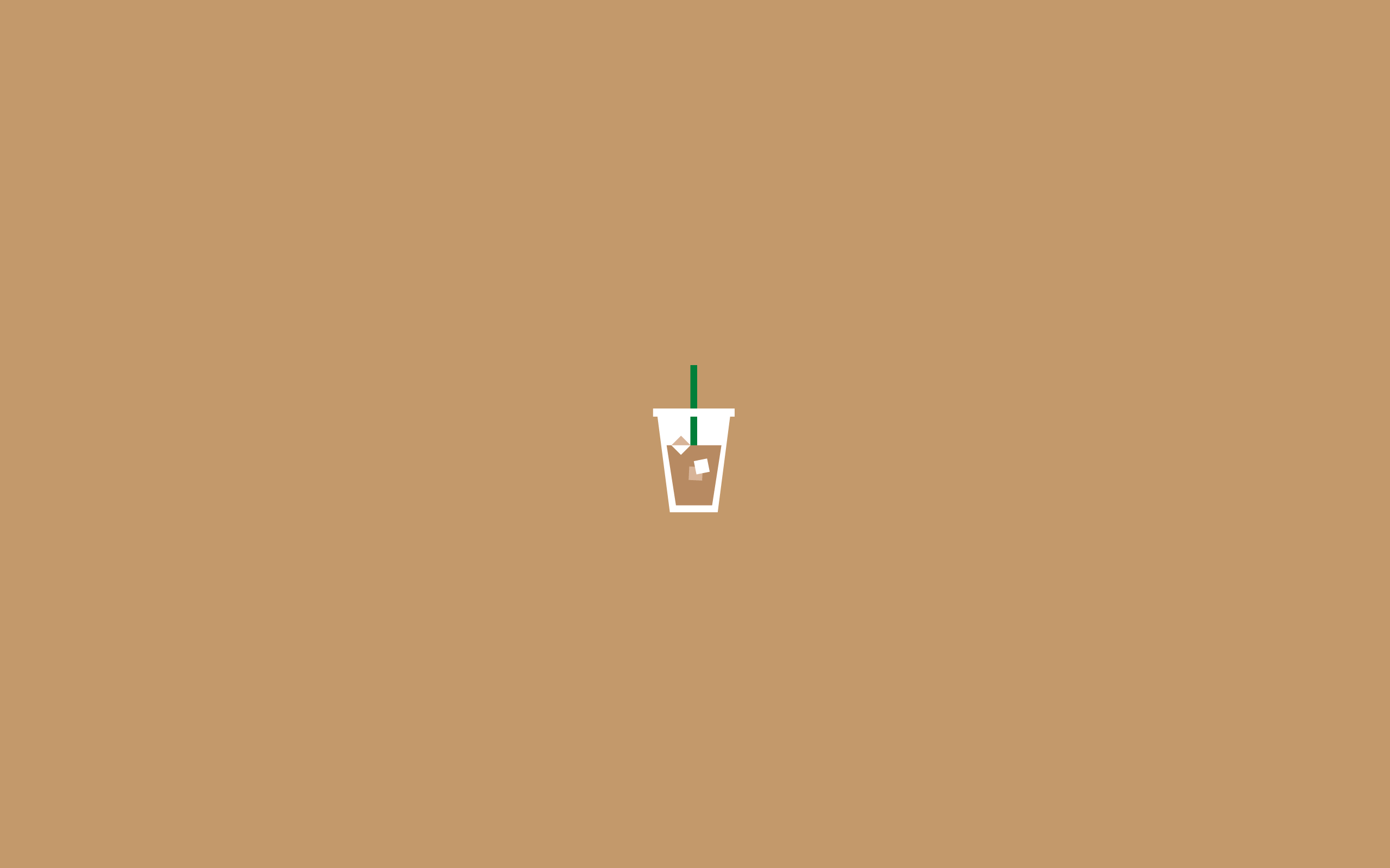 Basic Bish Starbucks In 2019 Minimalist Desktop