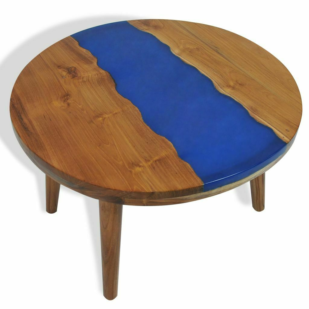 Teak Tree Trunk Cocktail Table Wood Table Design Decor Solid