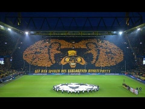 The yellow wall, Dortmund