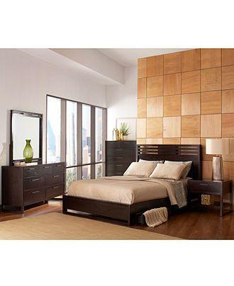 Tahoe Noir Bedroom Furniture Collection - Bedroom Furniture ...